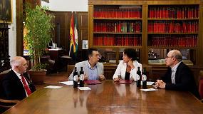 Foto de El CRDO de Sierra Mágina y la Universidad de Granada firman un convenio de colaboración