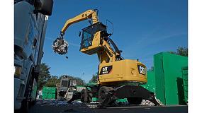 Foto de Caterpillar eleva los niveles de rendimiento con sus manipuladoras de materiales Cat MH3022 y MH3024