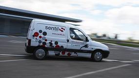 Foto de Sentil incorpora una furgoneta eléctrica para prestar servicios de vendidng en PortAventura