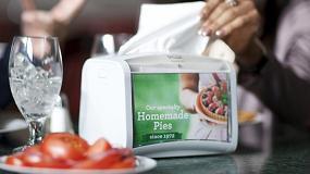 Foto de AD-a-Glance, una potente herramienta de marketing de Tork al servicio de los clientes