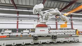 Foto de Güdel muestra en EMO 2017 sus ejes de accionamiento para robots de producción