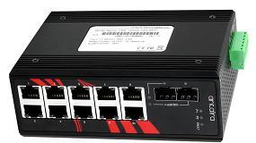 Foto de Switches Gigabit industriales no gestionados con slots 10G SFP+