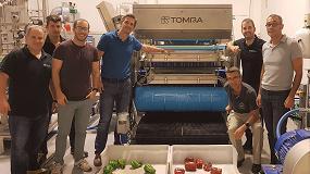 Picture of Tomra Sorting Food participa en las jornadas de demostración de selección óptica de vegetales
