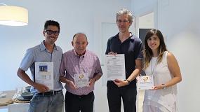 Picture of Entrega de la primera placa de Certificación Passivhaus en España para un edificio de viviendas plurifamiliar