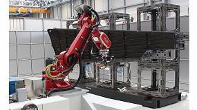 Fotografia de Control de posicionamiento 7DoF en tiempo real de un sistema robótico industrial