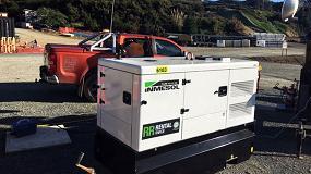 Foto de Generadores Inmesol en el Transmission Gulley Project
