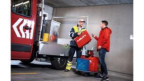 Foto de Hilti presenta una nueva solución de gestión del parque de maquinaria y herramientas