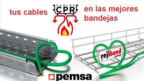 Foto de Para cables CPR, las bandejas más adecuadas