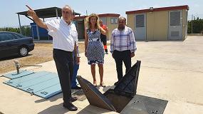 Foto de La alcaldesa de Castellón visita los pozos de abastecimiento de agua 'Camí Pedrera' y 'Aljibes', gestionados por FACSA