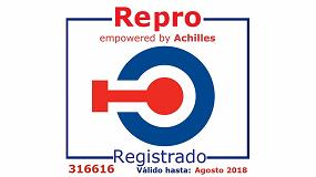 Foto de Busch Ibérica renueva su certificación en Repro (Registro de Proveedores )