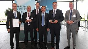 Picture of Schaeffler recibe por segundo año consecutivo el premio 'Best Support to Profitable Growth' de Vestas