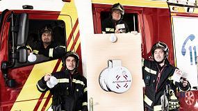 Picture of Cuatro bomberos crean un sistema de seguridad inalámbrico que permite detectar incendios en casa