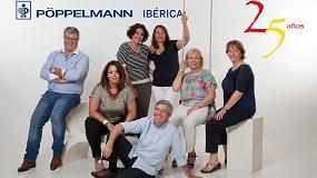 Fotografia de Pöppelmann Ibérica celebra 25 años de existencia