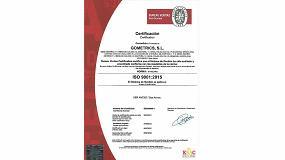 Foto de Gometrics certifica su sistema de gestión de calidad ISO 9001:2015