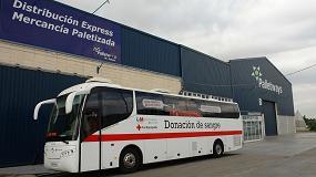 Foto de Palletways Iberia colabora con Cruz Roja Española en su campaña #salva3vidas