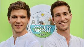 Foto de Dos jóvenes darán la vuelta al mundo en bicicleta identificando soluciones medioambientales para aprovechar los residuos plásticos
