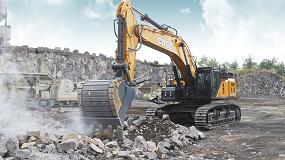 Foto de Case presenta la nueva excavadora CX750D para una productividad superior y tiempos de servicio máximos