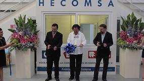 Foto de Procomsa inaugura el nuevo centro logístico de Hecomsa