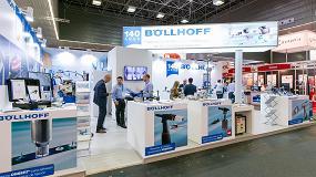Foto de Éxito de visitas en el stand de Böllhoff en la feria Subcontratación