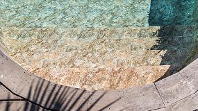 Foto de RENOLIT ALKORPLAN TOUCH, un revestimiento para piscinas en 3D inspirado en la naturaleza