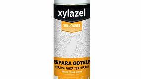 Foto de Xylazel lanza una pintura reparadora de gotelé en spray