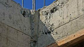 Foto de Reparación de coqueras al desencofrar el hormigón ¿es necesario el uso de un puente de unión?