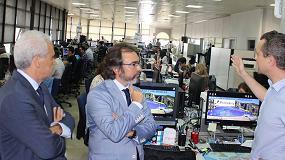 Foto de Primafrio recibe la visita del consejero de Presidencia y Fomento de Murcia
