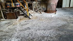 Foto de Lotum regenera un pavimento muy degradado con un autonivelante polimérico de altas prestaciones