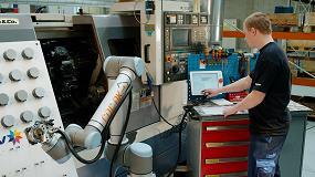 Foto de Todas las ventajas de la robótica colaborativa en el stand de Universal Robots en Equiplast 2017
