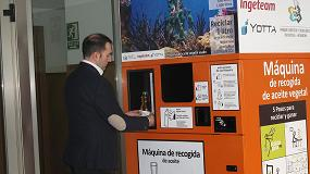 Foto de Ingeteam colabora en la recogida de aceite y evita la contaminación de 150.000 litros de agua