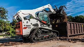 Foto de Bobcat presenta la nueva cargadora compacta de orugas T870