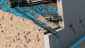 Foto de Nuevo sistema de drenaje Ischebeck Drill Drain: el drenaje con barra autoperforante
