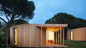 Picture of Thermia Barcelona con las casas del futuro, modulares, económicas y sostenibles