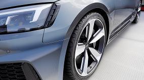 Foto de El neumático UHP buque insignia de Hankook, el Ventus S1 evo², utilizado como equipo original en el nuevo Audi RS5 Coupé