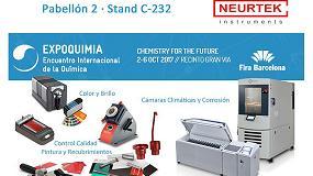 Foto de Neurtek apuesta por la última tecnología en el diseño y fabricación de sus productos de marca propia en Expoquimia