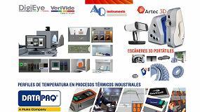 Foto de Medición de color y luz, registro de perfiles de temperatura en hornos y digitalización 3D de mano de AQ instruments en Expoquimia