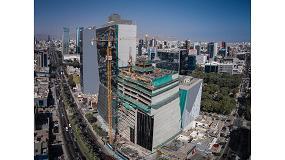 Foto de Ulma participa en el proyecto de construcción del edificio sostenible Torre Javier Prado en Lima