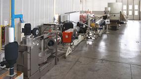 Foto de Reciclaje de materiales termoplásticos con la línea GM Tandem