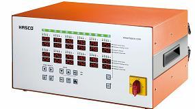 Foto de Nuevas unidades de control Hasco multi-zona H1252 /... para 6 y 12 zonas de calentamiento