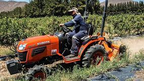 Foto de Kubota irrumpe en Argentina a través de un importador con tractores de baja potencia