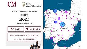 Foto de Bodega Carlos Moro lanza la campaña #conNombrePropio