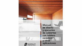 Foto de Hispalyt publica el 'Manual de diseño y ejecución de cubiertas con tablero cerámico y otras aplicaciones'