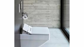 Foto de SensoWash Slim, el nuevo asiento de lavado con base rectangular de Duravit