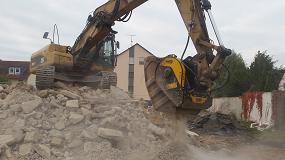 Foto de La gama MB Crusher destinada a obras urbanas trabaja en ciudades de todo el mundo