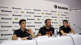 Fotografia de Los hermanos Márquez, padrinos de la gama XT de Scania