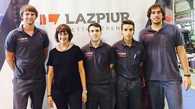 Foto de Lazpiur y Miguel Altuna Lanbide Heziketa colaboran para ofrecer formación dual