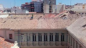 Foto de Rehabilitación de las Escuelas Pías de Albacete con el sistema de impermeabilización Onduline Bajo Teja DRS