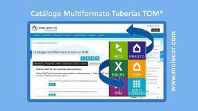 Foto de Novedades en el Catálogo Multiformato Tuberías TOM de Molecor