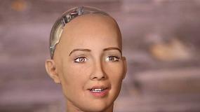 Foto de La robot humanoide Sophia participará en el foro sobre Blockchain del IoT Solutions World Congress