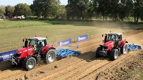 Foto de Michelin mostró en Innov-Agri 2017 sus dos últimas innovaciones en neumáticos agrícolas